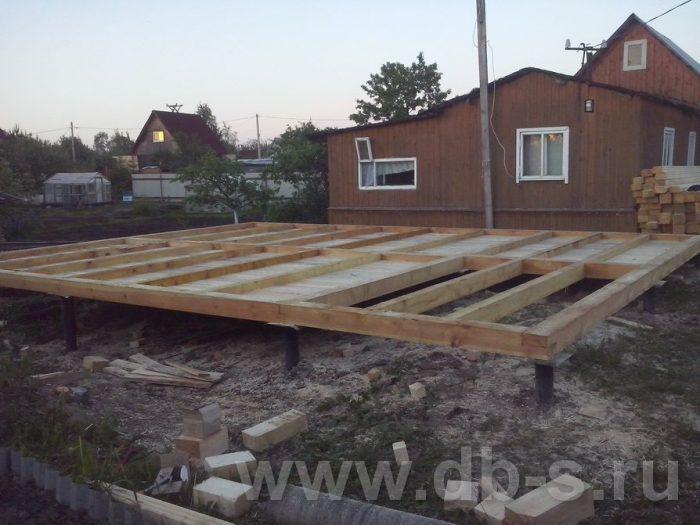 Строительство дома из бруса с мансардой 8 на 6 Всеволожский р-н, Ленинградская обл. фото 2