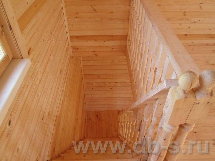 Строительство дома из бруса с мансардой 8 на 6 Всеволожский р-н, Ленинградская обл. фото 13