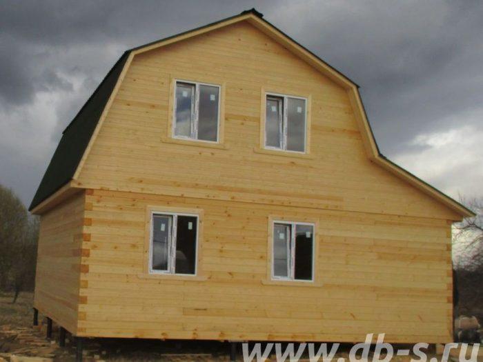 Строительство дома из бруса с мансардой 6 на 7 Дмитров, Московская область фото 1