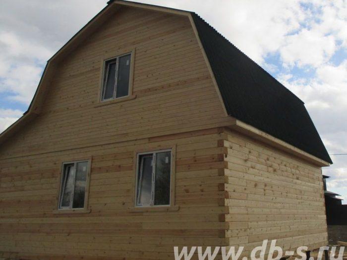 Строительство дома из бруса с мансардой 6 на 7 Дмитров, Московская область фото 3
