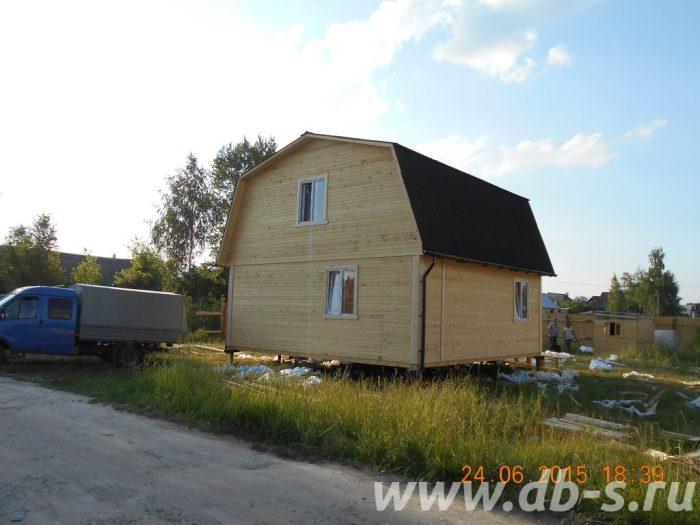 Строительство каркасного дома с мансардой 7 на 7 Гусь-Хрустальный, Владимирская область фото 1