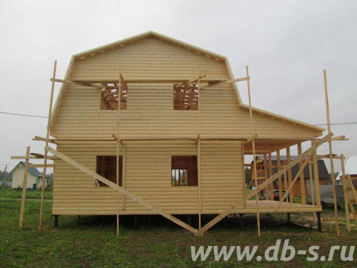 Строительство каркасного дома с мансардой 9 на 7 Таруса, Калужская область фото 2
