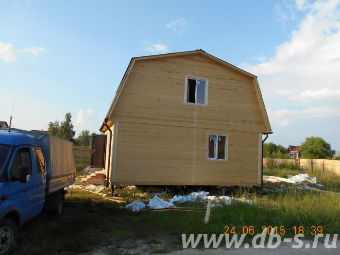 Строительство каркасного дома с мансардой 7 на 7 Гусь-Хрустальный, Владимирская область фото 3
