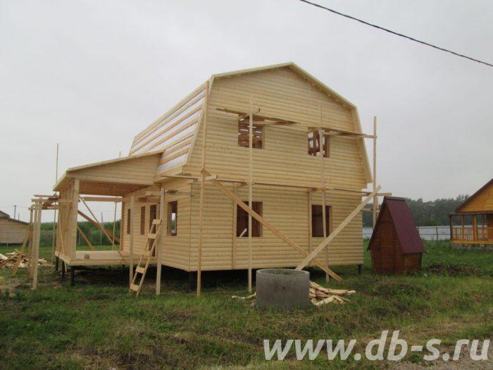Строительство каркасного дома с мансардой 9 на 7 Таруса, Калужская область фото 3