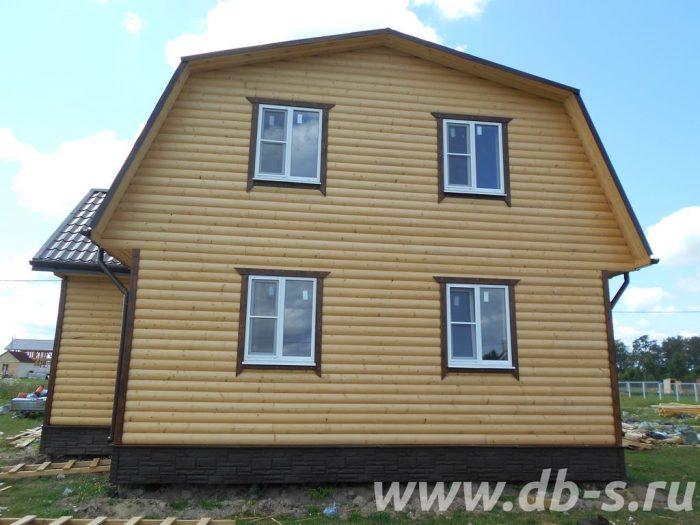 Строительство каркасного дома с мансардой 9 на 7 Можайск, Московская область, фото 3