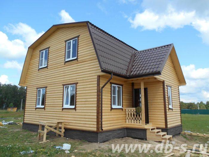 Строительство каркасного дома с мансардой 9 на 7 Можайск, Московская область, фото 1