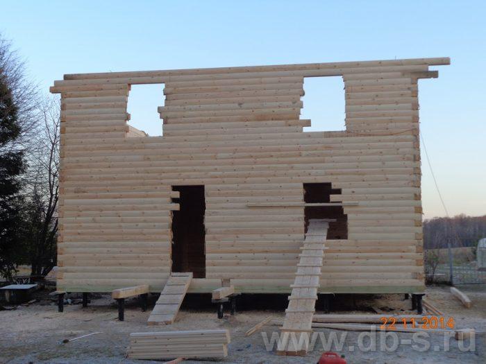 Строительство двухэтажного дома из бруса 8 на 8 Сосновый Бор, Ленинградская область фото 10