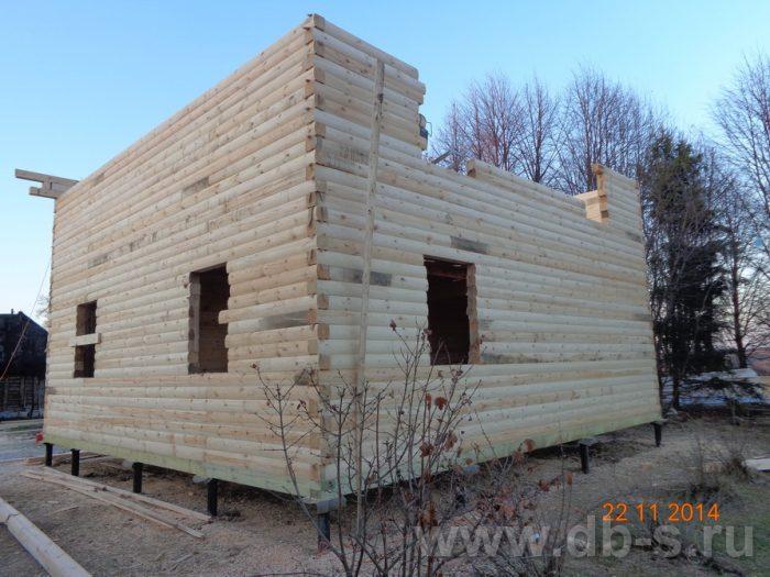 Строительство двухэтажного дома из бруса 8 на 8 Сосновый Бор, Ленинградская область фото 12