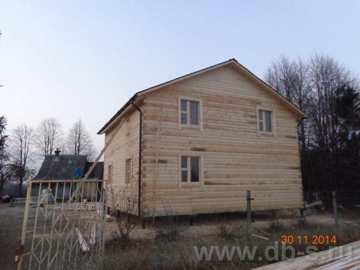 Строительство двухэтажного дома из бруса 8 на 8 Сосновый Бор, Ленинградская область фото 15