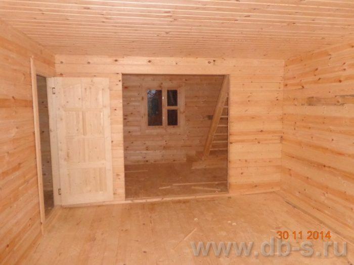 Строительство двухэтажного дома из бруса 8 на 8 Сосновый Бор, Ленинградская область фото 16