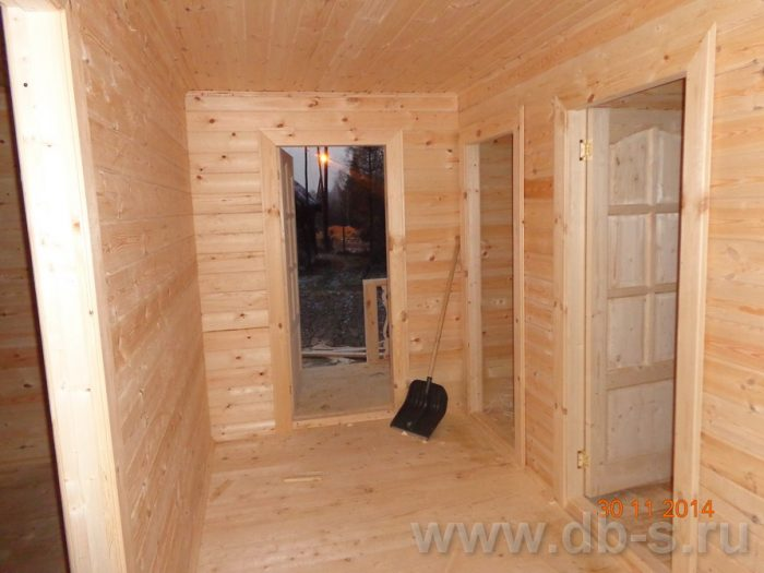 Строительство двухэтажного дома из бруса 8 на 8 Сосновый Бор, Ленинградская область фото 17