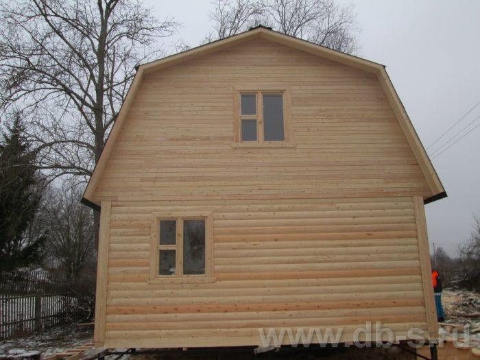 Строительство дома из бруса с мансардой 6 на 6 Серпухов, Московская область фото 4