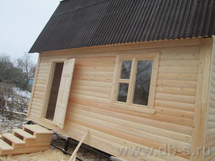 Строительство дома из бруса с мансардой 6 на 6 Серпухов, Московская область фото 5