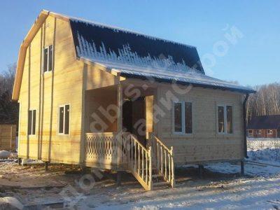 Строительство дома 6х8 г. Серпухов
