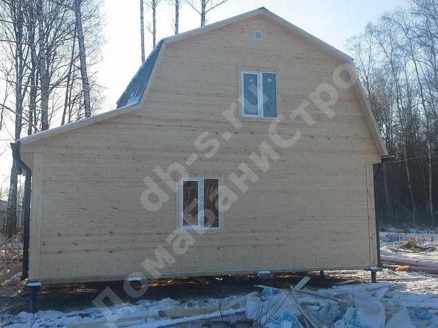 Строительство каркасного дома с мансардой 8 на 6 Серпухов,Московская область фото 3
