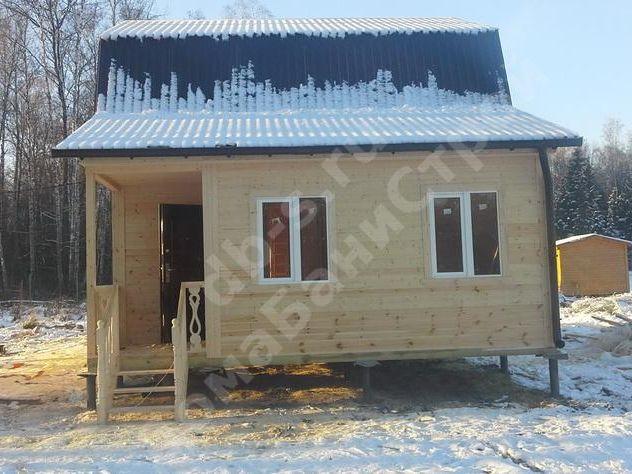 Строительство каркасного дома с мансардой 8 на 6 Серпухов,Московская область фото 5