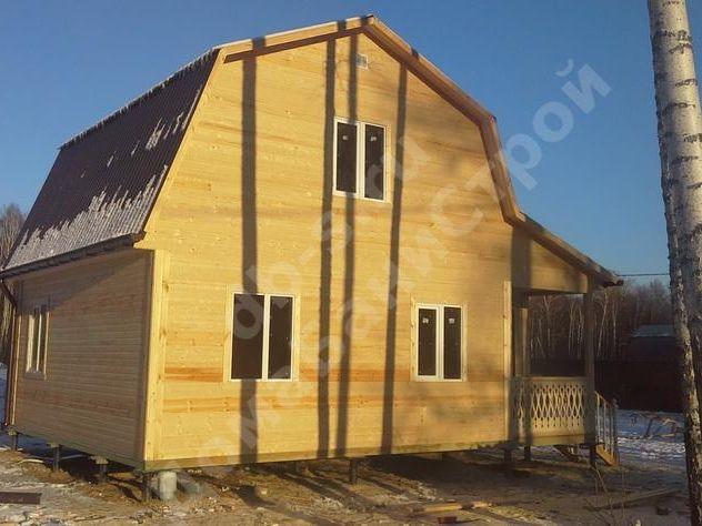 Строительство каркасного дома с мансардой 8 на 6 Серпухов,Московская область фото 6