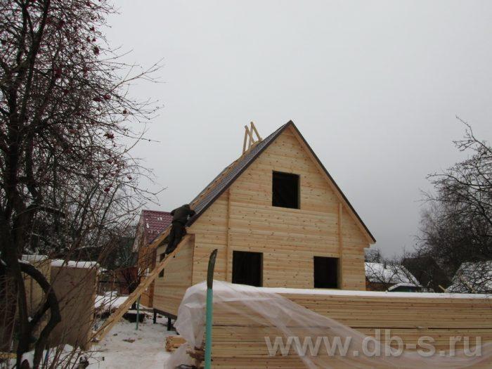Строительство каркасного дома с мансардой 6 на 6 Электросталь, Московская область фото 2