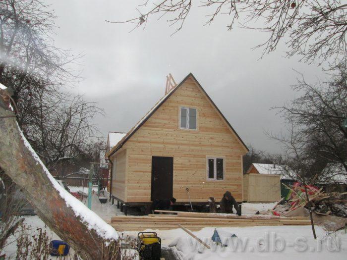 Строительство каркасного дома с мансардой 6 на 6 Электросталь, Московская область фото 3