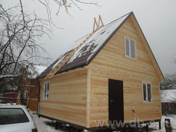 Строительство каркасного дома с мансардой 6 на 6 Электросталь, Московская область фото 1