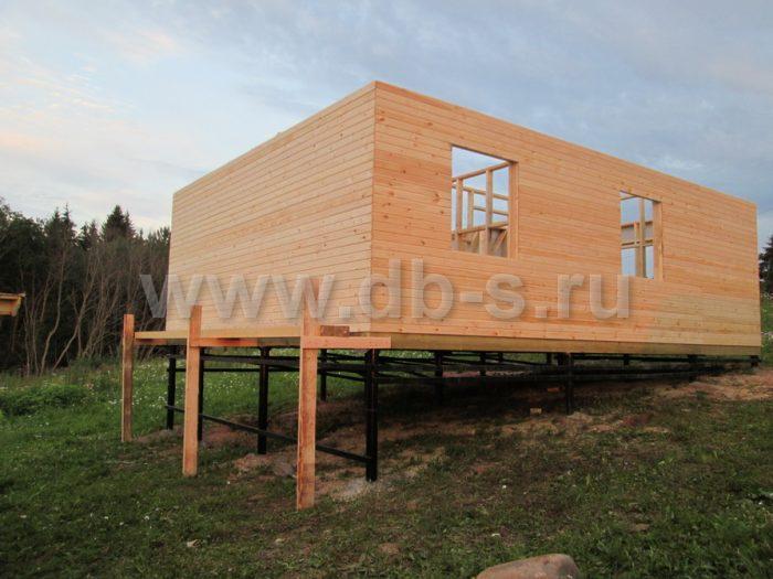 Строительство каркасного дома с мансардой 8 на 6 Гатчина, Ленинградская область фото 2