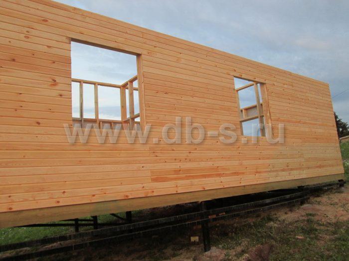 Строительство каркасного дома с мансардой 8 на 6 Гатчина, Ленинградская область фото 3