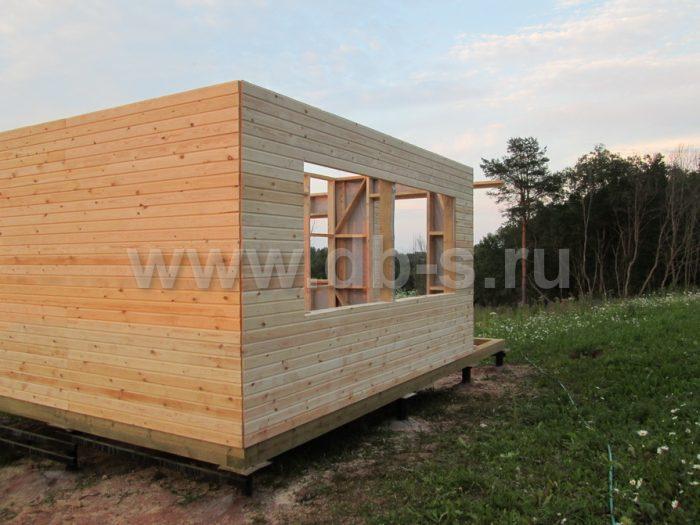 Строительство каркасного дома с мансардой 8 на 6 Гатчина, Ленинградская область фото 4