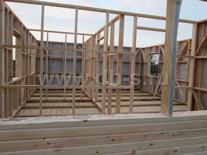 Строительство каркасного дома с мансардой 8 на 6 Гатчина, Ленинградская область фото 5