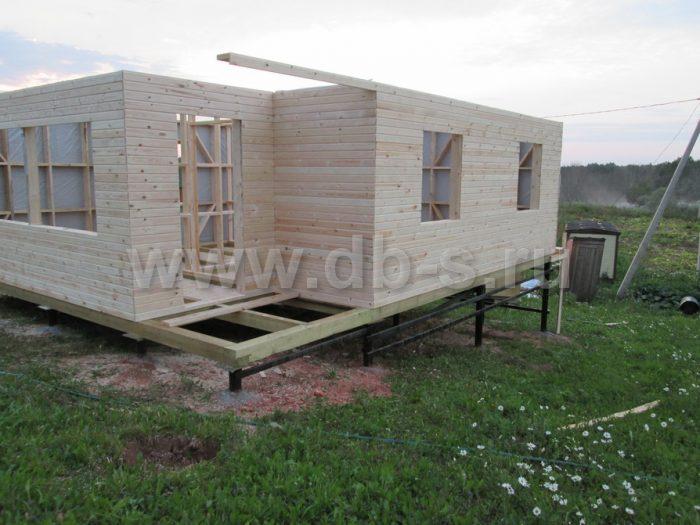 Строительство каркасного дома с мансардой 8 на 6 Гатчина, Ленинградская область фото 6