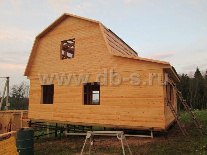 Строительство каркасного дома с мансардой 8 на 6 Гатчина, Ленинградская область фото 8