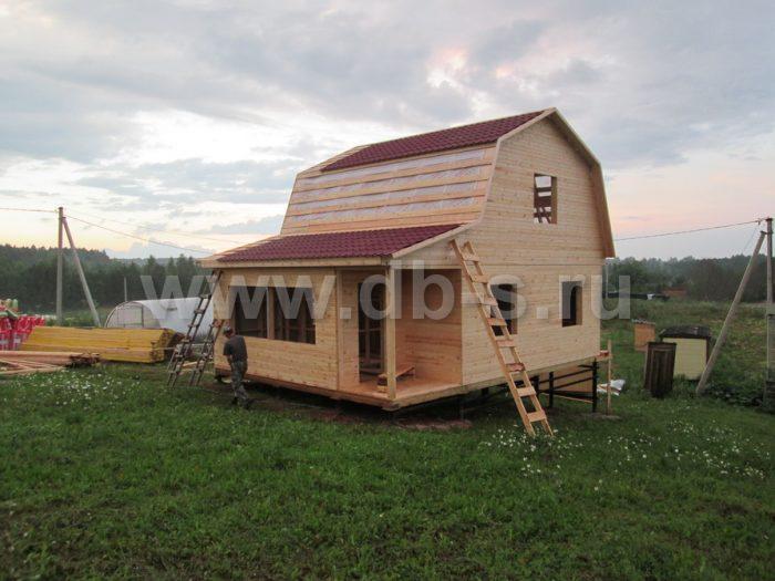 Строительство каркасного дома с мансардой 8 на 6 Гатчина, Ленинградская область фото 10
