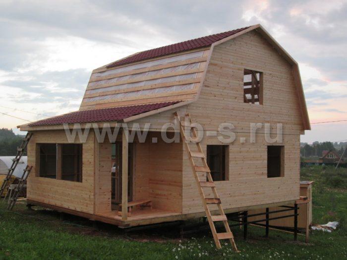 Строительство каркасного дома с мансардой 8 на 6 Гатчина, Ленинградская область фото 11