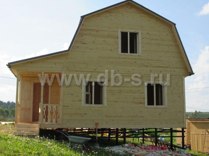 Строительство каркасного дома с мансардой 8 на 6 Гатчина, Ленинградская область фото 14