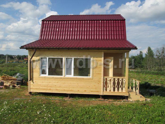 Строительство каркасного дома с мансардой 8 на 6 Гатчина, Ленинградская область фото 16