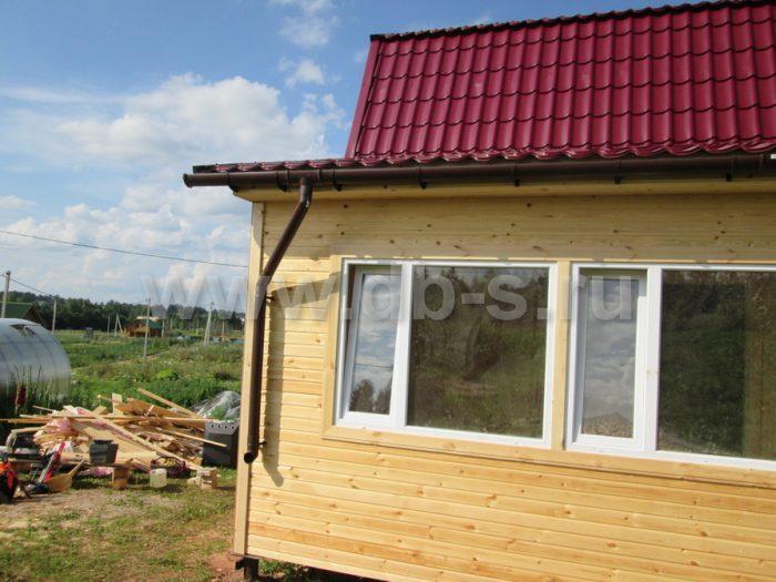 Строительство каркасного дома с мансардой 8 на 6 Гатчина, Ленинградская область фото 17
