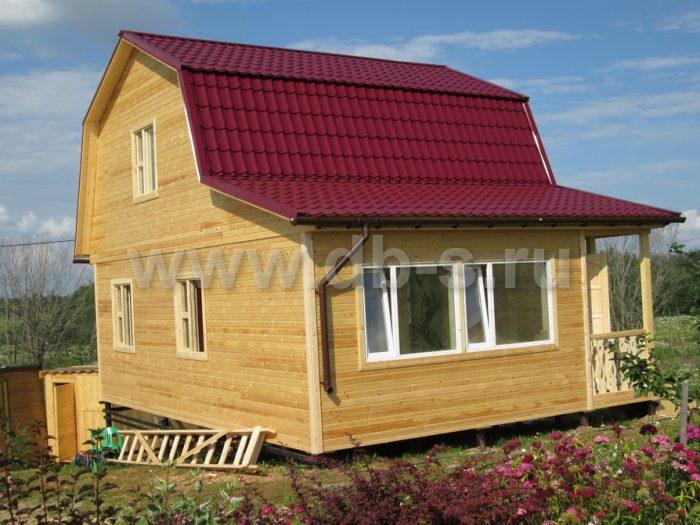 Строительство каркасного дома с мансардой 8 на 6 Гатчина, Ленинградская область фото 18