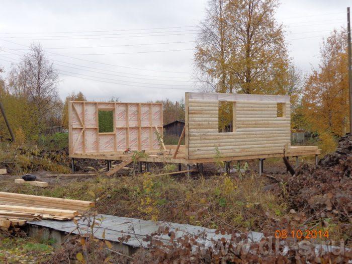 Строительство двухэтажного каркасного дома 8 на 8 Кашира, Московская область фото 2