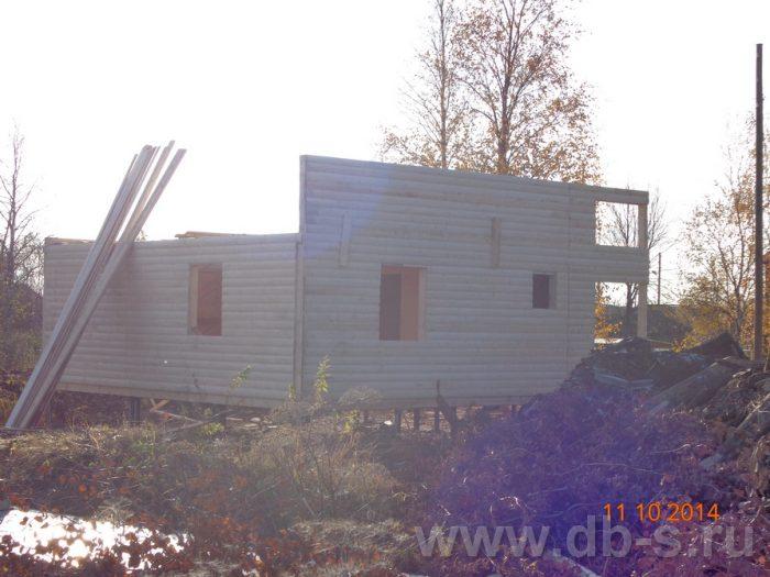 Строительство двухэтажного каркасного дома 8 на 8 Кашира, Московская область фото 4