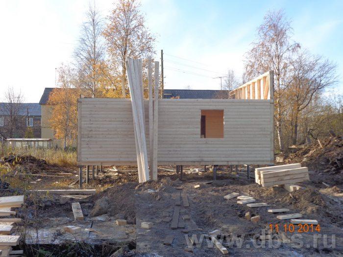 Строительство двухэтажного каркасного дома 8 на 8 Кашира, Московская область фото 5
