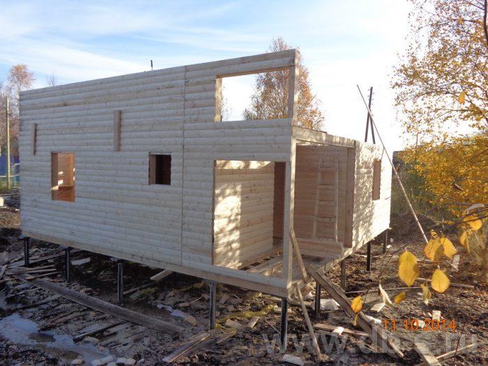 Строительство двухэтажного каркасного дома 8 на 8 Кашира, Московская область фото 6