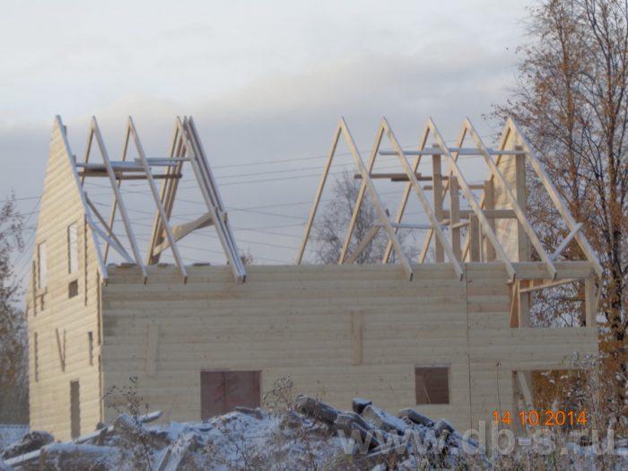 Строительство двухэтажного каркасного дома 8 на 8 Кашира, Московская область фото 7
