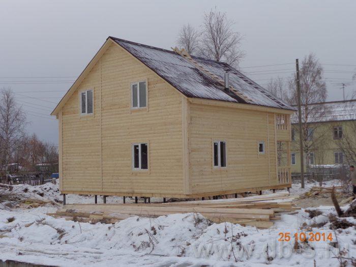 Строительство двухэтажного каркасного дома 8 на 8 Кашира, Московская область фото 13