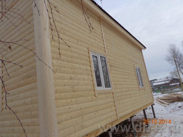 Строительство двухэтажного каркасного дома 8 на 8 Кашира, Московская область фото 14