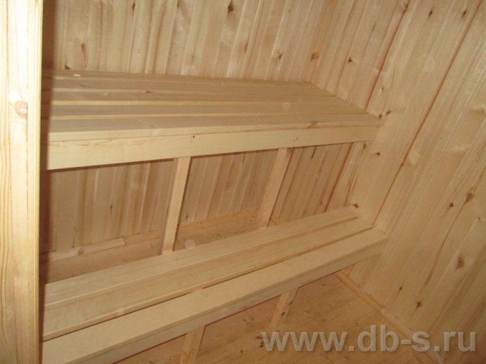 Строительство одноэтажной бани из бруса 5 на 5 Тихвин, Ленинградская область фото 3