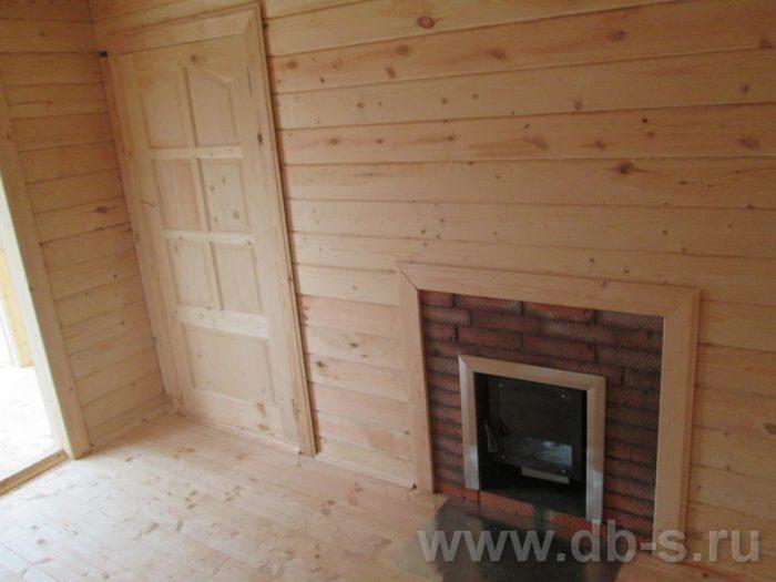 Строительство одноэтажной бани из бруса 5 на 5 Тихвин, Ленинградская область фото 4